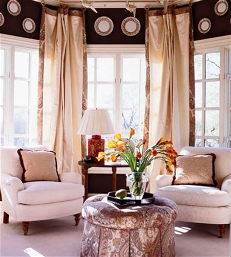 bay window sofa arrangement turn a bay window into a spot for two with a pair of