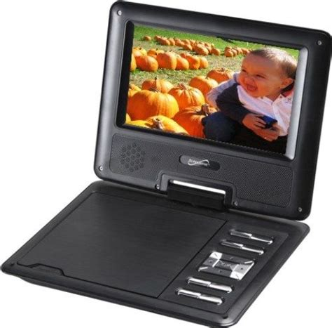 portable dvd player video format supersonic sc 177 portable dvd player 7 widescreen tft