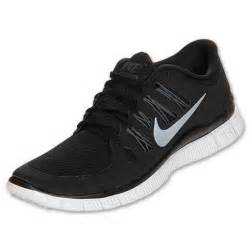 black nike shoes for nike free 5 0 womens size running shoes black white silver