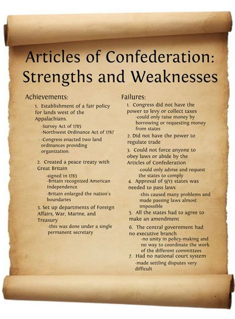 what were the strengths and weaknesses of the ottoman empire articles of confederation articles of confederation