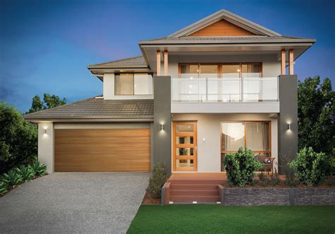 best double story house designs beautiful two story house with a balcony double storey