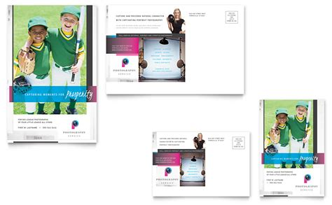 post card template punlidhrt photography business postcard template word publisher