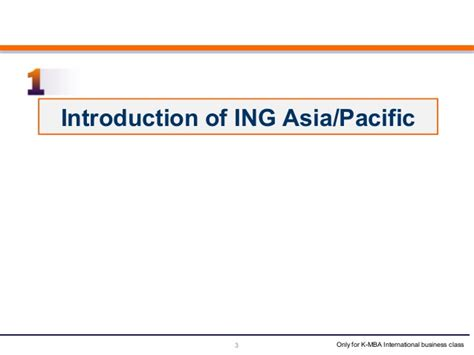 Of The Pacific Mba Ranking by Ing Asia Pacific Study