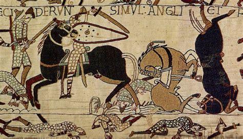 Tapisserie De Bayeux by 950 Ans Pour La Bataille De Hastings Immortalis 233 E Dans La