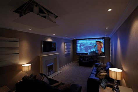 Ceiling Projector Living Room Creating A Home Cinema Homebuilding Renovating