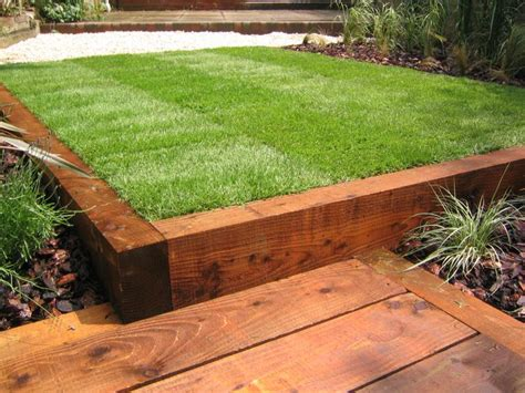 Railway Sleepers Garden Ideas Railway Sleeper Ideas Images Cascading Terrace Steps Railway Sleepers