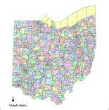 us zip code map svg ohio digital vector maps editable illustrator