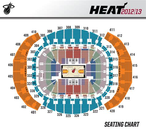 miami heat stadium seating capacity interactive seating chart american airlines