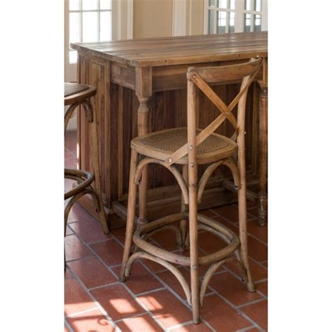 Back Counter Stool by Cross Back Counter Stools Acorbordados