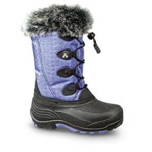 snow boots kamik snowgypsy winter boots 609582 winter snow boots at sportsman s guide