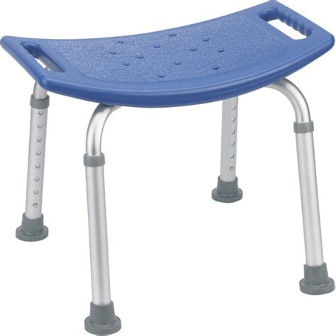 aquasense adjustable bath and shower chair with non slip