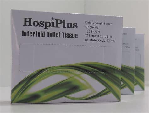 interfold toilet paper hospeco australia