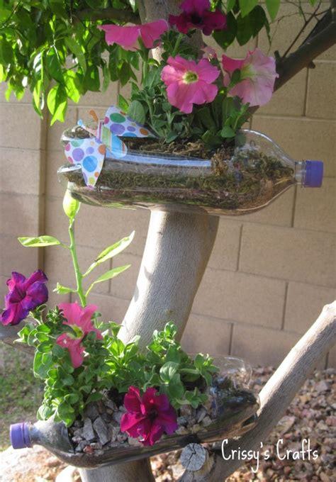 Pop Bottle Planter by Plastic Bottles Recycling Garden Decor Interior
