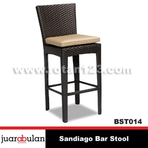 Kursi Bar Stool harga jual sandiago bar stool kursi bar rotan sintetis