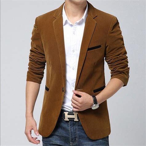 Blazer Jas New Brown Style kaufen gro 223 handel braun cord blazer aus china braun cord blazer gro 223 h 228 ndler aliexpress