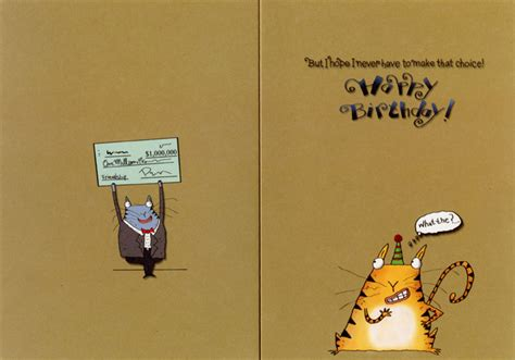 Oatmeal Birthday Cards More Valuable Funny Birthday Card Greeting Card By