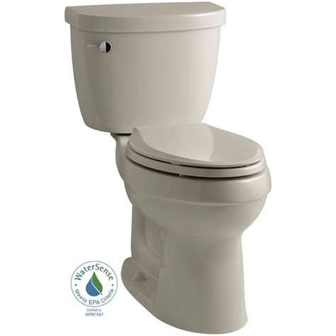 comfort height toilet home depot kohler kelston comfort height 2 piece 1 28 gpf elongated