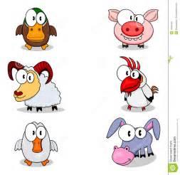 Farm House Plans cartoon animals stock photos image 10431423