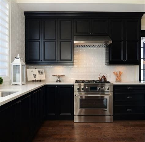 Kitchen With Black Countertops And White Cabinets by Kitchen Cabinets With White Countertops 3454 Home