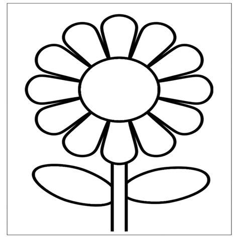 immagini fiore da colorare 100 fiori da colorare per bambini idees