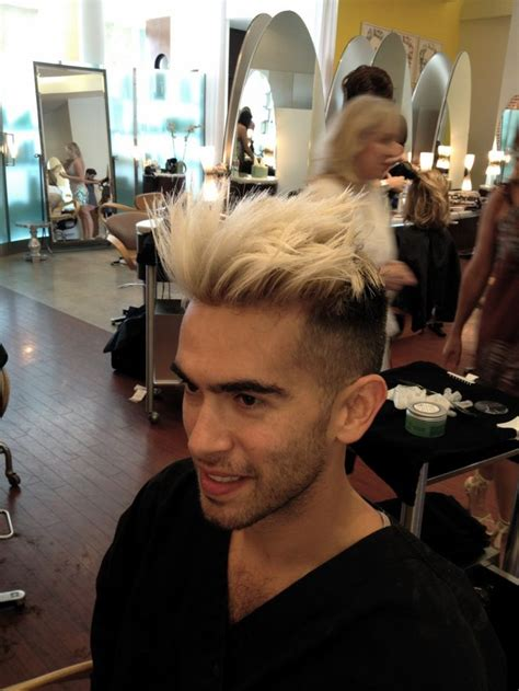 mens hairstyles dyed blonde 1000 images about men s hair color on pinterest popular