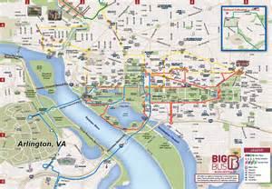 Big Bus Washington Dc Map by Similiar Dc Tours Route Map Keywords