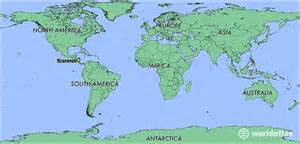 Nicaragua World Map by Where Is Nicaragua Where Is Nicaragua Located In The