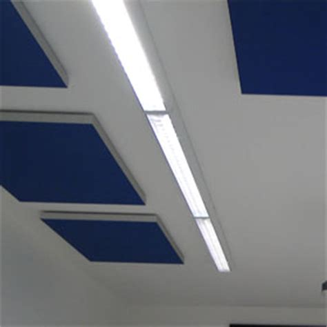 farbige decke schallschutzplatten decke