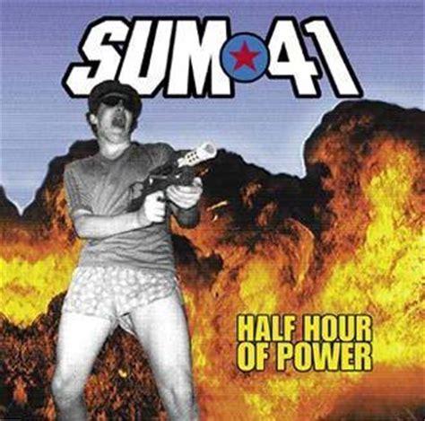 Kaset Sum 41 Half Hour Of Power sum 41 lyrics lyricspond