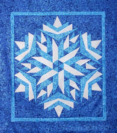 Snowflake Quilt by 10 Snowflake Quilt Patterns That Will Warm Your
