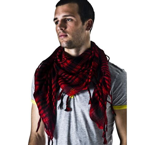 black shemagh arab fashion scarf from ties planet uk