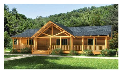 House Plans Cabin by Log Home Floorplan Swan Valley The Original Lincoln Logs