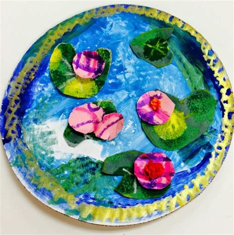 painting craft projects top 10 claude monet projects for