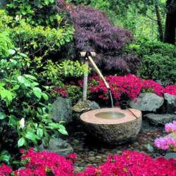 Backyard Fountains Ideas Triyae Simple Backyard Water Feature Ideas Various Design Inspiration For Backyard