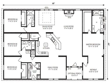 floor plans for mobile homes wide mobile modular home floor plans clayton wide mobile