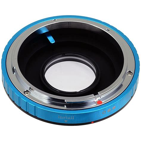 canon nikon fotodiox pro lens mount adapter for canon fd lens to fd nk