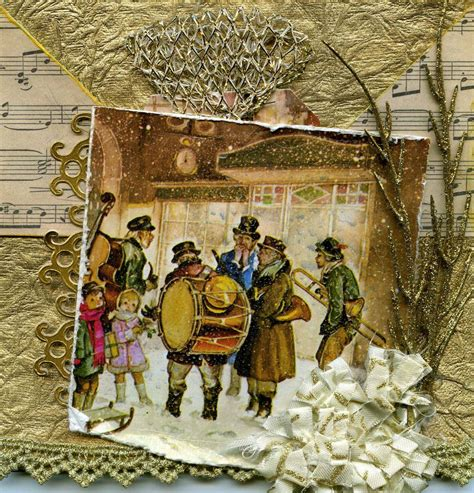 kay wallace scrapbooking   beautiful christmas card