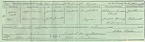Isle Of Wight Marriage Records Bmd Records Of Redman