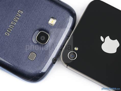 Samsung V Apple Samsung Galaxy S Iii Vs Apple Iphone 4s