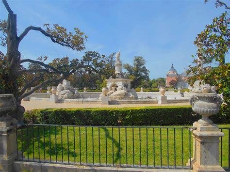 barandilla jardin barandilla y fuente de h 233 rcules y anteo el palacio real