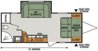 trailers floor plans trailer floor plans flagstaff v lite travel trailers floor