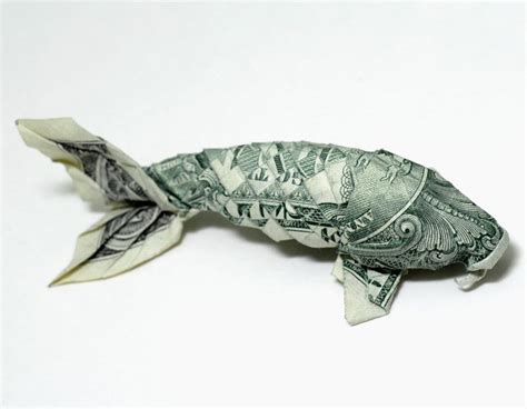 Single Dollar Bill Origami - custom designed animal origami by nguyen hung cuong