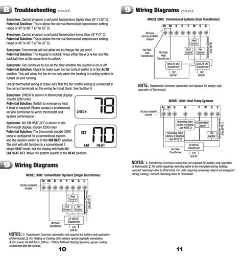wiring diagram for braeburn thermostat image collections