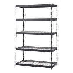 edsal shelving lowes shop edsal 72 in h x 48 in w x 24 in d 5 tier steel