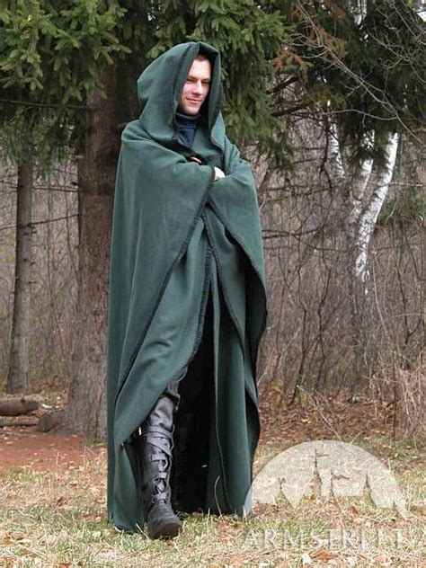 Handmade Cloaks - magic woolen cloak robe with handmade