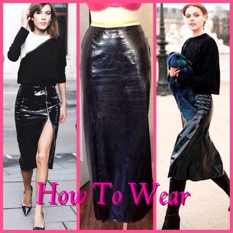 Veny Maxi 57 vintage dresses skirts vintage vinyl black