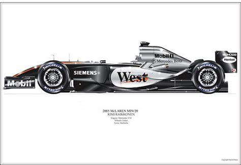 Mclaren Mercedes Mp4 20 J P Montoya 2005 Minichs Models 1 43 530 mclaren formula 1 merchandise