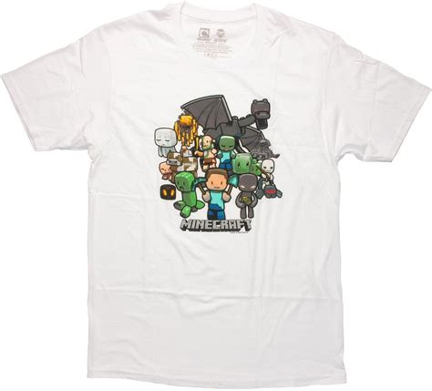 Baju Kaos Tshirt Palace Logo World White minecraft white t shirt