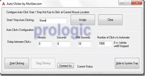 Mouse Otomatis auto clicker cara bikin mouse click otomatis 171 prologic tips trik komputer style