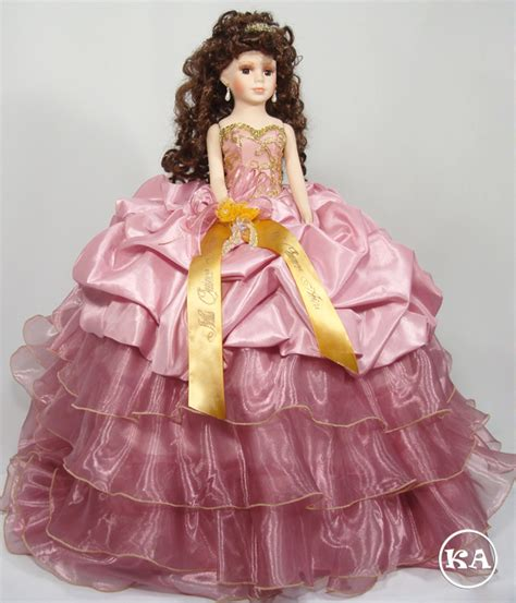 black quinceanera doll heidicollection grace 21 inch quinceanera doll dusty